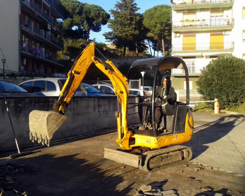 Escavatore JCB 8016 TG